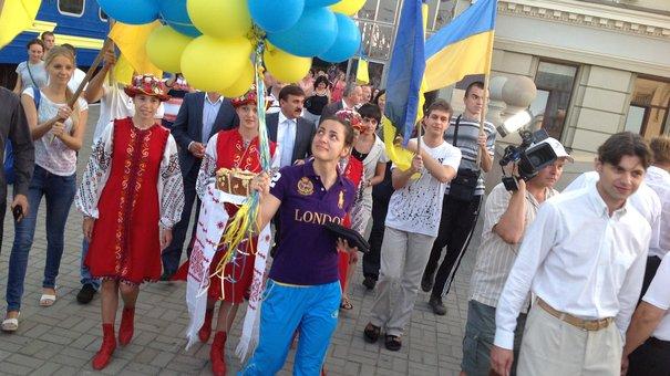 Олімпійська чемпіонка Шемякіна привезла «золото» до Львова