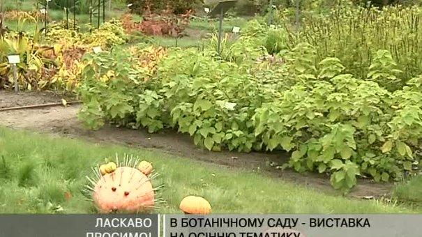 У львівському ботанічному саду презентують виставку на осінню тематику
