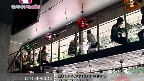 До списку найкращих ресторанів України увійшло 11 львівських