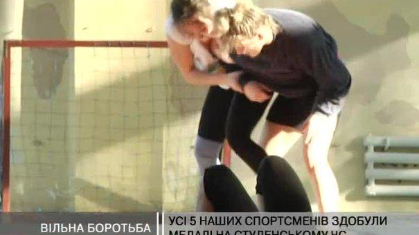 5 львів'ян здобули медалі на студентському чемпіонаті світу з боротьби