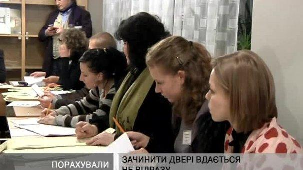 Підрахунок голосів на виборчих дільницях завершено