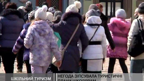 Через весняний сніг до Львова у березні приїхало мало туристів