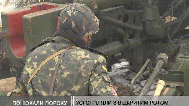 Курсантів посвятили в артилеристи на Яворівському полігоні