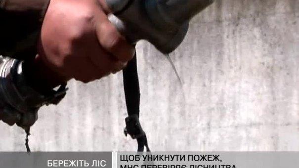 Ліси Львівщини - під пильною увагою МНС та камер