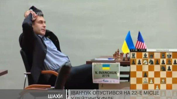 Іванчук скотився на 22 сходинку рейтингу ФІДЕ