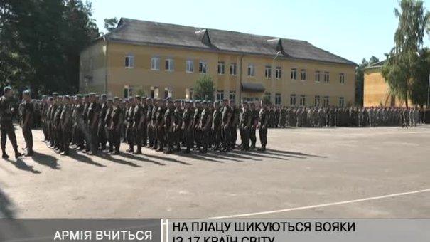 У Яворові проходять українсько-американські навчання вояків