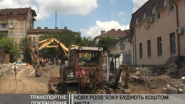 На перехресті Городоцької-Шевченка з'явиться транспортне кільце