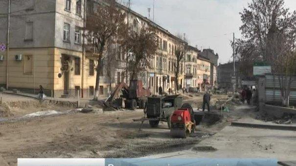 Ремонти вулиць у Львові затягуються