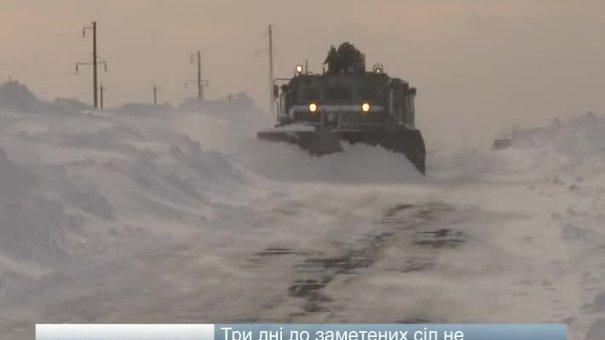 40 сіл на Львівщині залишились у сніговому полоні