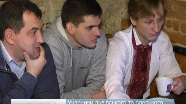 Учасники львівського та одеського Євромайданів зіграли у шахи