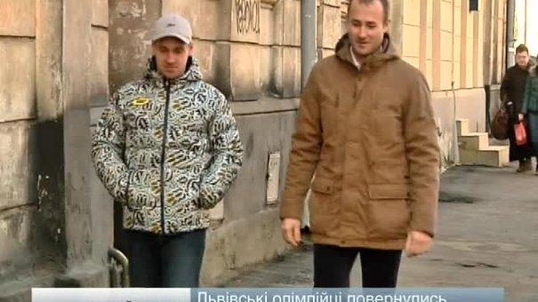 Львівські санкарі повернулись із Сочі