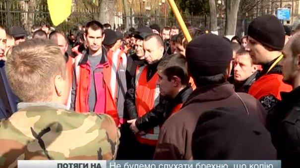 Рух потягів на Київ відновили