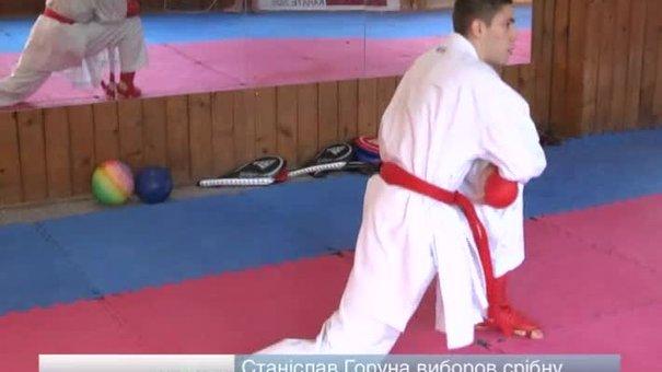 Станіслав Горуна виборов срібну медаль на чемпіонаті Європи