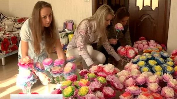 Купили квітку — допомогли дітям