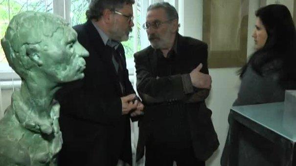 Юрій Дворник представив персональну виставку у 75 років