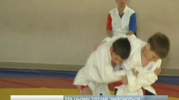 Юні самбісти змагалися на чемпіонаті області