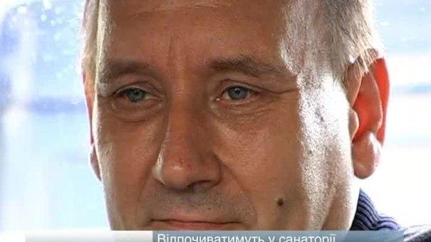 На Львівщину приїхали двоє донбаських шахтарів