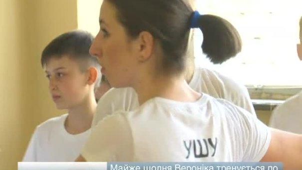 Дрогобичанка Вероніка Сенюх стала чемпіонкою Європи із ушу