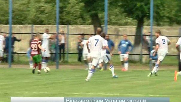 Дніпропетровський «Дніпро» завершив львівський збір перемогою у Стрию