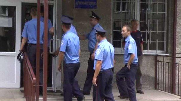 Міліціянти Львівської залізниці стали донорами для поранених силовиків