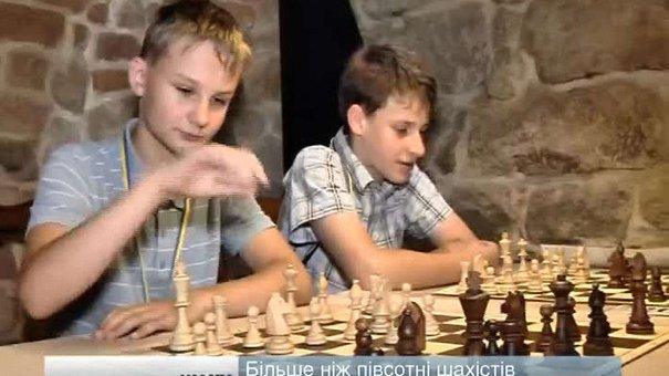 Понад півсотні шахістів позмагалися на юніорському турнірі у Львові