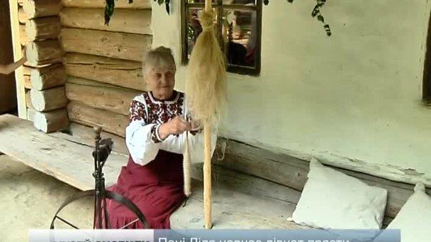 У Шевченківському гаю вчать туристів прясти та кувати