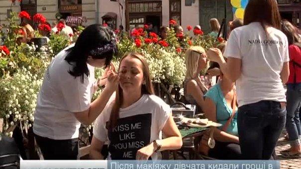 Дівчата-візажисти у Львові за день зібрали для військових близько 1,5 тис. грн