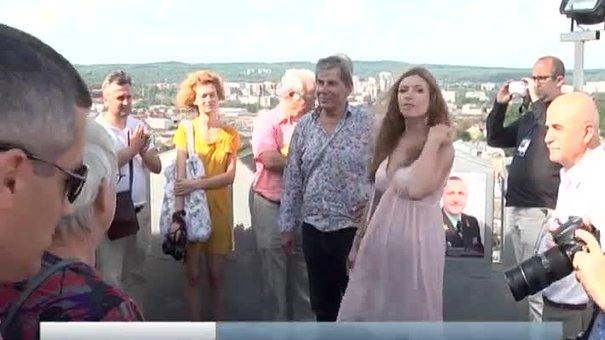 У Львові відкрили виставку на оглядовому майданчику Ратуші