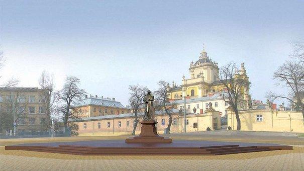 У Львові спорудять пам'ятник Шептицькому та облаштують площу св. Юра