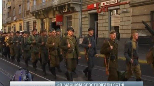 У Львові пройшов парад на честь заснування Української повстанської армії