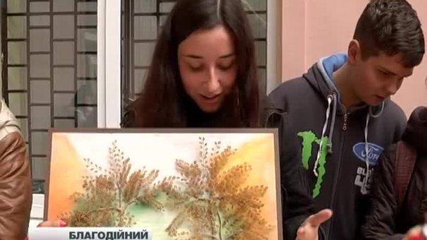 Львівські школярі і театрали збирали гроші для поранених вояків