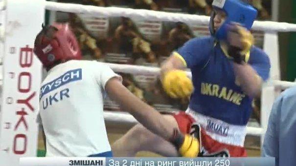 У Львові завершився чемпіонат світу зі змішаних єдиноборств
