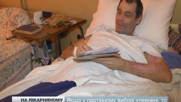 Поранені бійці зі східного фронту змогли проголосувати у Львівському шпиталі