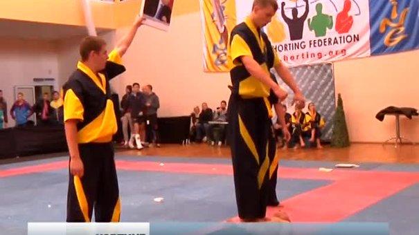 Львів прийняв перший чемпіонат Європи з українського виду єдиноборств