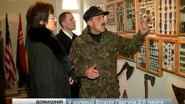 Житель Львівщини 35 років створював приватний музей зброї