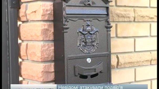 Невідомі люди атакували вибуховим пристроєм подвір`я підприємця у Брюховичах