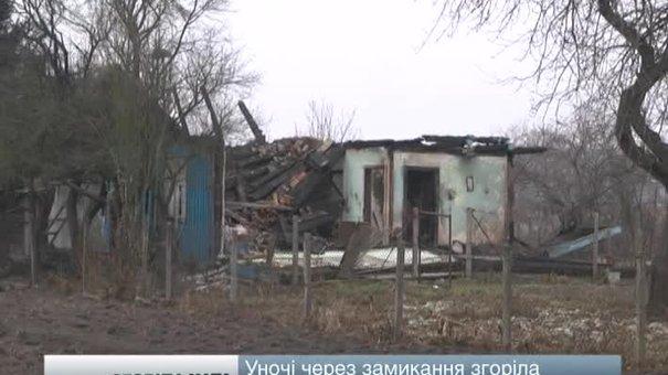 На Львівщині згоріла хата через закритий залізничний переїзд