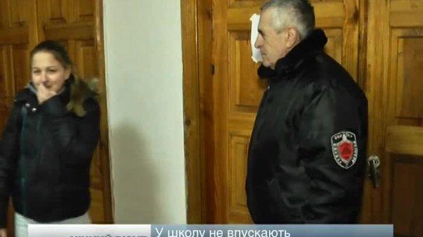 Невідомими у камуфляжі, які приходили у школу, виявилися міліціонери Шевченківського райвідділу