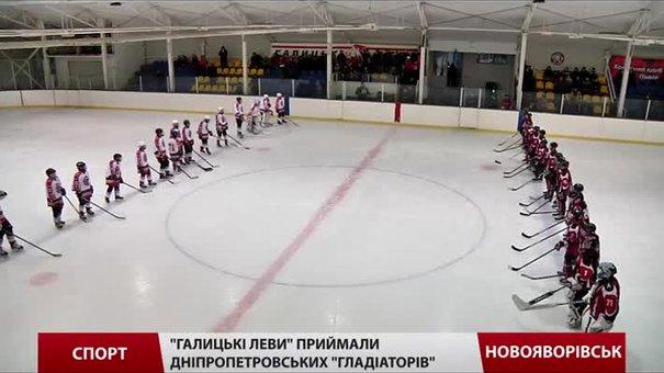 У хокейному поєдинку «Галицьких левів» та «Гладіаторів» перемогли «хижаки»