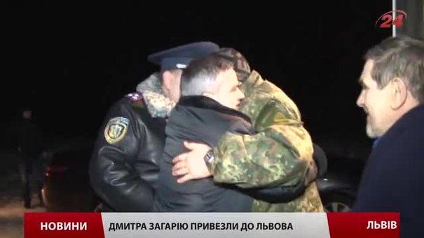 Повернувшись до Львова, Загарія подякував бойовим товаришам за підтримку