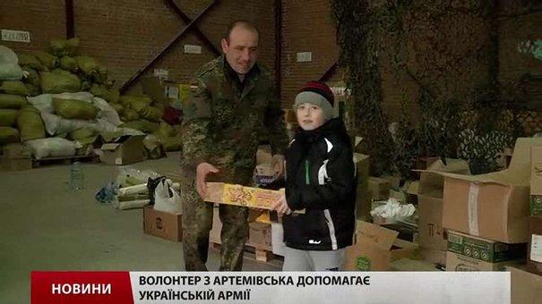 У Львові переселенець з Артемівська активно допомагає українській армії
