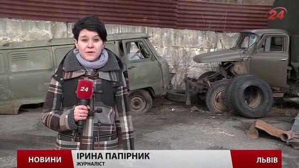 У Львові військова техніка «гниє» просто неба