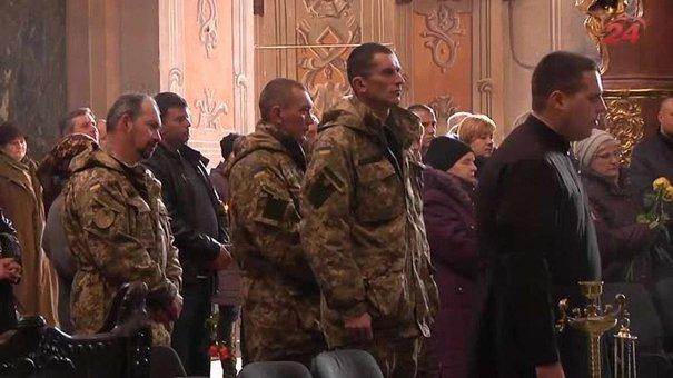У Львові попрощалися з десантником 80-ї бригади Сергієм Михайловим