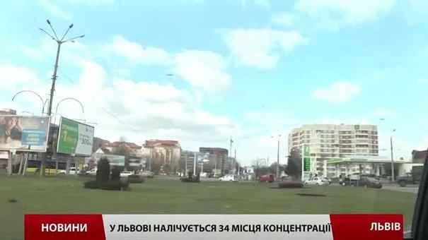У Львові цьогоріч трапилося 70 наїздів на пішоходів, половина водіїв втекла