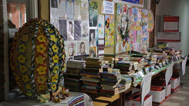 Львівські школярі збирають книжки для сільських бібліотек