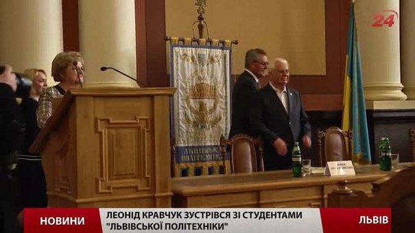 Єдиний можливий захист від Росії – це вступ до НАТО, – Леонід Кравчук