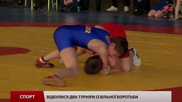 Львів приймає два турніри з вільної боротьби