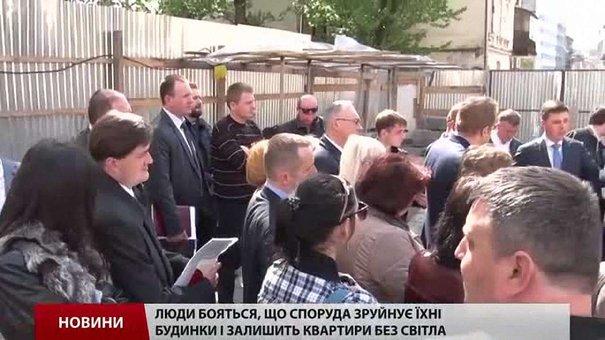 В центрі Львова призупинили будівництво готелю