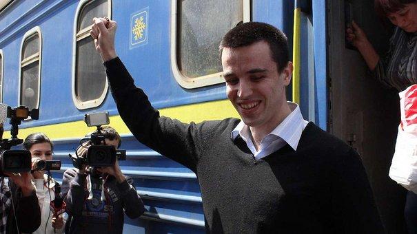 У Львові зустріли студента-активіста, який майже рік відсидів у російській в'язниці