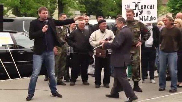 У Жовкві зі сварками і скандалами представили нового начальника райвідділу міліції